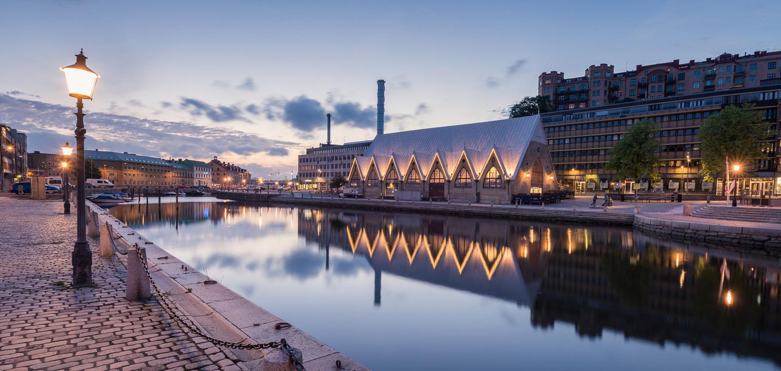 Göteborg - Feskekôrkan