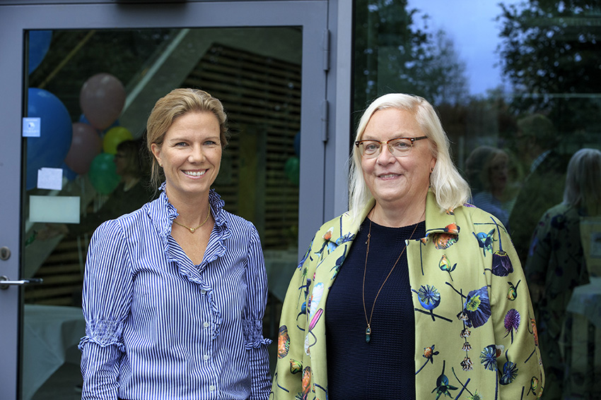 Jenny Nyström and Christina Backman