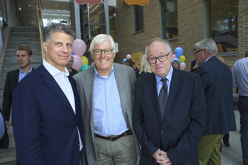 John Vivstam, Björn Aschan och Håkan Olsson