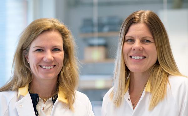 Jenny Nyström och Kerstin Ebefors