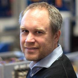 Andreas Fhager, docent vid Elektroteknik på Chalmers