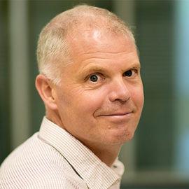 Fredrik Bäckhed, professor vid Avdelningen för molekylär och klinisk medicin, Göteborgs universitet